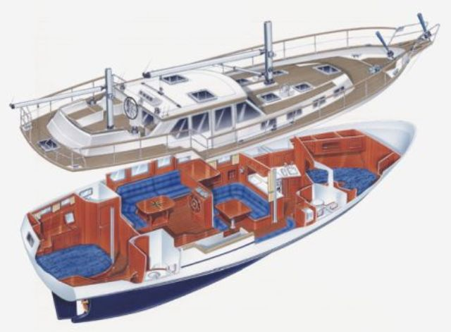 Some pics on a feadship motor sailor feadship yacht for Motor sailer boat plans
