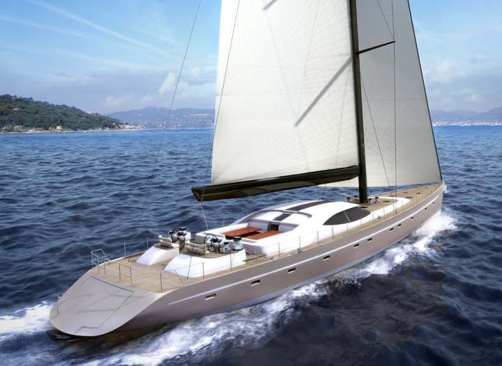 New Build: Van Dam Nordia 120' Sailing Yacht - Yacht News