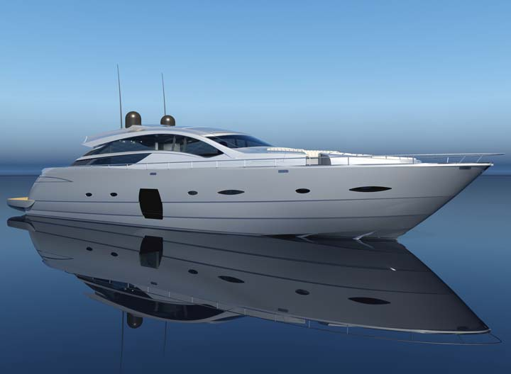 New Debut: Pershing 80' - YachtForums.