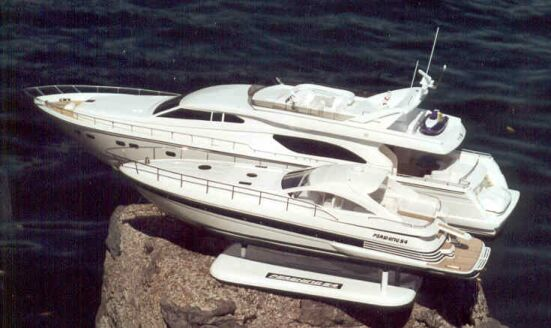 Pershing 54 and Ferretti 80. Attached Images