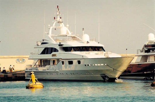 "One of a very popular ""series"" by Benetti is 50 m Golden Bay series."
