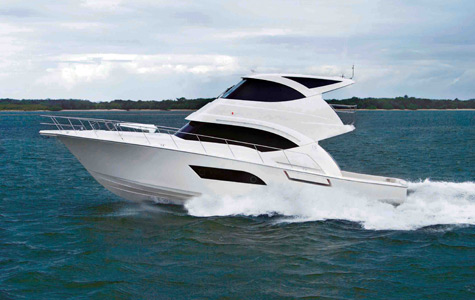 Why bother making a new skylounge mold for Riviera's 53' sportfish, ...