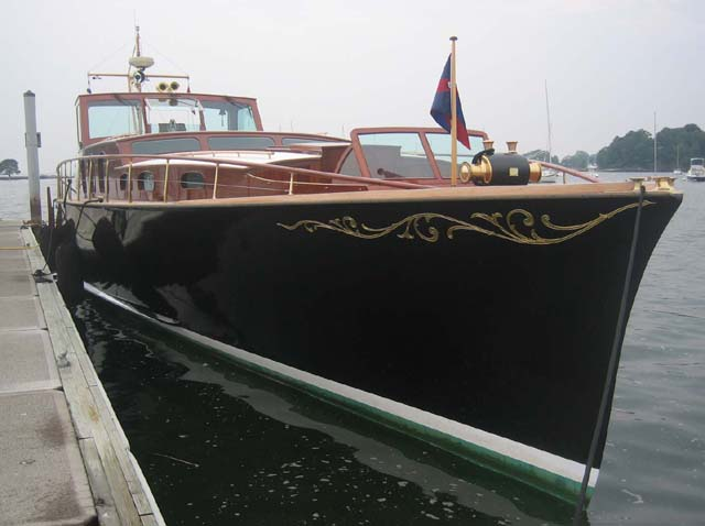 Apropos of Nothing: Aphrodite A 30's commuter yacht