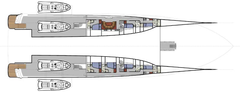Feature: New Zealand Yachts 50m Wavepiercer - New Zealand Yacht | YachtForums: We Know Big Boats!
