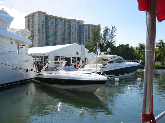 Showcasing the diversity of their range, Sunseeker had everything in their ...